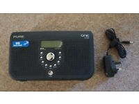 PURE Portable DAB/FM Radio (Black)