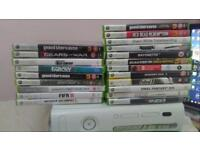 Xbox 360 with 20+ games and controller