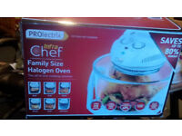 PROlectric Halogen Oven New Never Used in Box Recipe Book