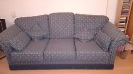 Sofa set of 2 dry cleaned