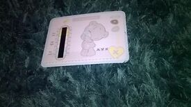 Baby room temprature dial
