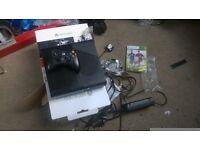 console x box 360, 500 GB nearly new