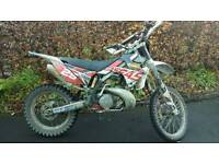Gas Gas EC 200 Enduro Bike 2 Stroke Road Legal