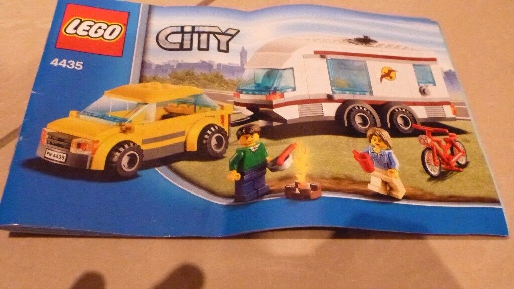 Lego Campervan And Car 4435 Instructions In Ingleby Barwick