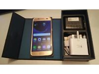 Samsung S7 GOLD    UNLOCKED \ new ccondition, MAY SWAP