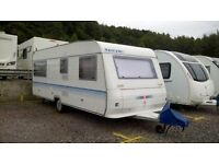 Adria altea 5 berth lightweight touring caravan with fixed bunks