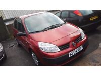 Renault Scenic 1.4cc MPV, only 45,000 miles Good condition, £1300