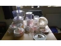 Kenwood FP730 Food Processor with attachments