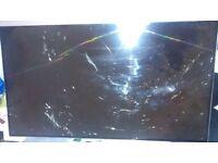 """lg 48"""" smart tv spares or repair"""