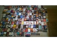 TAPES COLLECTION OF TAPES ALL SORTS COUNTRY POP EASY LISTENING CLASSIC ROCK APPROX 200 LOT----------