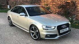 2012 AUDI A4 2.0 TDI S LINE 170 BHP 8 SPEED AUTO FULLY LOADED ALL THE EXTRAS 45,000 MILES