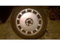 Audi A8 D2 Monoblock Alloy Wheel