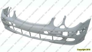 Bumper Front Primed-Gray Withappearance Package Sedan/Wagon Mercedes E-Class 2003-2006