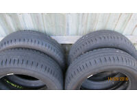 Michelin 185 65 R15 energy green tyres x 4