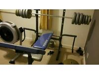 York 521 weights bench