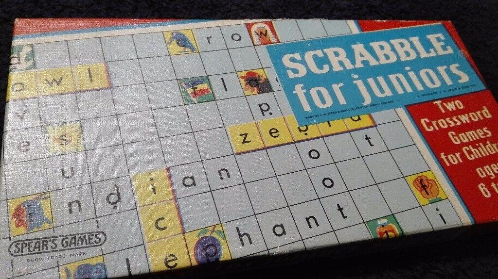 Scrabble for juniors