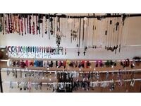 LARGE SELECTION OF FASHION JEWELLERY JOB LOT - OVER 200 PIECES