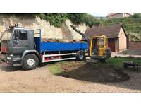 Mini Digger Hire and Tipper hire (Cheapest in town) Fife Edinburgh Dundee Perth