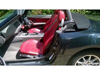 BMW Z4 SPORT CONVERTIBLE NEW MOT RED LEATHER