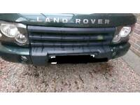 Landrover discovery 2 facelift bumper trim green