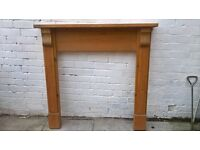 Wooden fire surround for sale