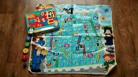 Postman Pat Giant Snakes and Ladders game