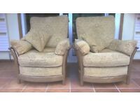 Pair of Renaissance Ercol Armchairs
