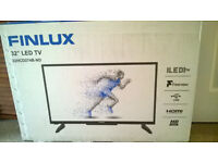 """BRAND NEW 32"""" LED TV by Finlux £100 (still in the box) NO OFFERS"""