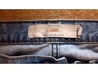 Mens light wash Topman jeans size 32S