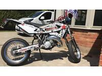 Husqvarna 125 Sms 125 Road legal motocross bike mx bike road not ktm kx yz yzf rm cr
