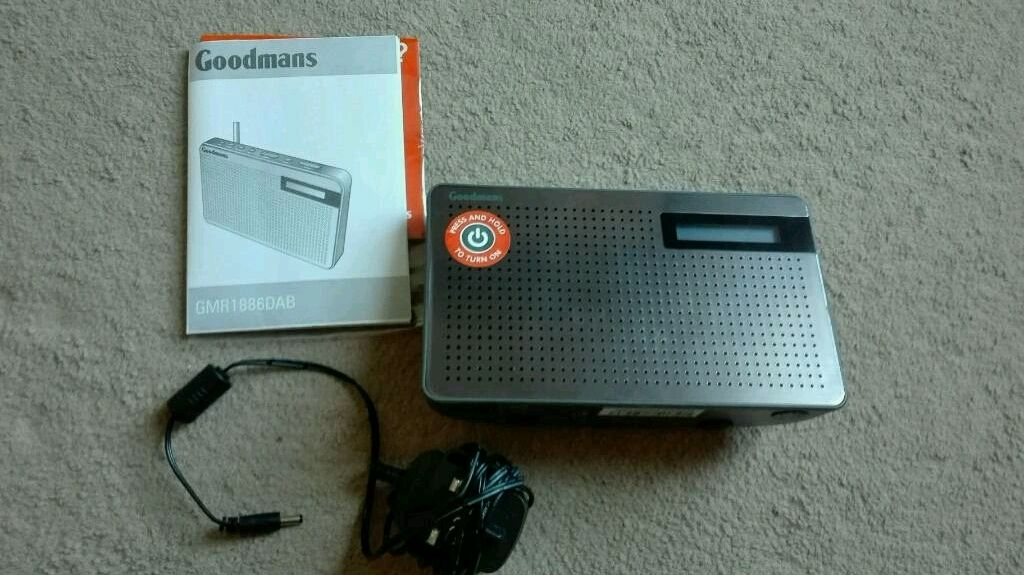 Goodmans DAB digital radio
