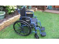 Wheelchair, Drive - Blue Streak Series – bought in USA with flip up arms.collect from Kenilworth