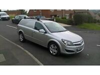 stunning condition one owner astra sportive 1700cdti van in silver with a full service history