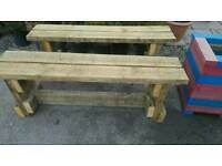 Rustic Bench (150 cm long) 2 available £35 each
