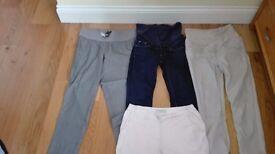 maternity trousers bundle - size 8