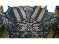 Two-Seater Love-seat Sofa