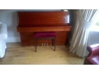 Beautiful Steinmayer overstrung upright piano. In good condition.