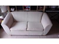 Sofa bed cream colour