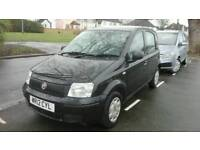 2012 12 plate Fiat Panda 1.2 Enos 5 door black low mileage drives excellent full service history
