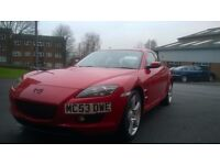 2004 MAZDA RX-8 192 PS RED SWAPS PX