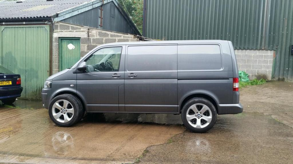 Bmw X5 Alloys Will Fit Vw Transporter T5 In Hexham