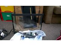 25 L glass fish tank