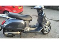 Vespa gt 200 registered as a 125 spares or repairs 2005