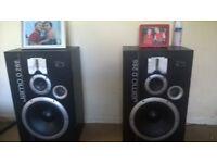 x2 jamos D 266 very loud speakers