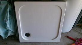 Shower tray 75cm x75cm new
