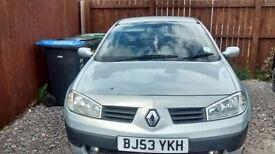 Renault Megane 2003 1.6 spares or repair