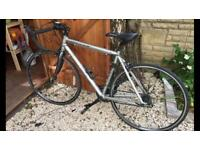Careers valour silver road bike