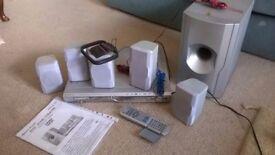 DVD Home Theatre Set Up Lenoxx Sound Model MODEL HT- 6OO
