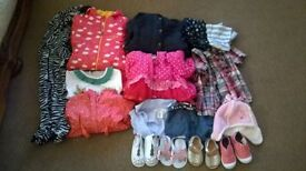 Girls 12-18 mth bundle includes shoes