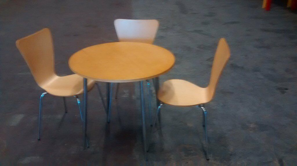 Canteen Beach Tables & Chairs (3 sets)